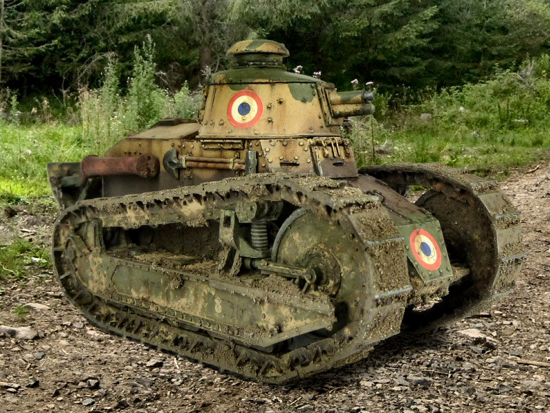 Renault Ft 17 By Eric Deluy