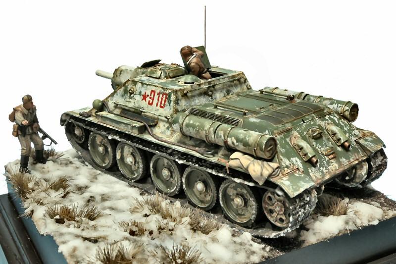 SU-122 Self Propelled Gun